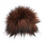 Maroon Faux Fur